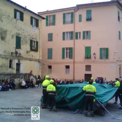 Esercitazione Scuola Media Ventimiglia Alta - 11 marzo 2014