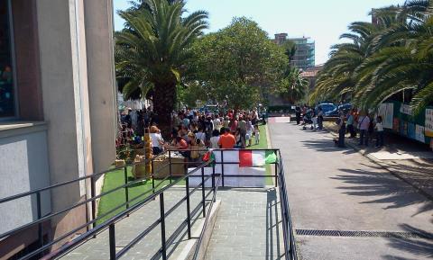 Mercatino Ventimiglia - giugno 2012
